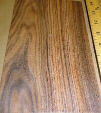 """Rosewood Santos wood veneer 5"""" x 8"""" with no backing raw veneer 1/42""""thickness"""