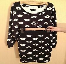 NEW Women's Sweater Knit Sweater With Skirt Two-piece Outwear Sweater SZ XS