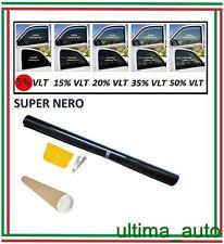 PELLICOLA OSCURANTE PER VETRI AUTO SUPER NERO 5% 76cm x 3m / 76cm x 300cm