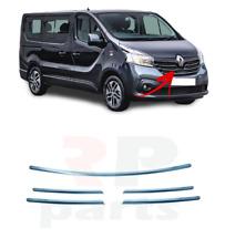 Renault Megane 2009-2014 par de rejilla parachoques delantero con terminación cromo de alta calidad