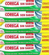 5 x COREGA EXTRA STRONG DENTURE ADHESIVE CREAM 70 gr TOTAL 350g Taste Free