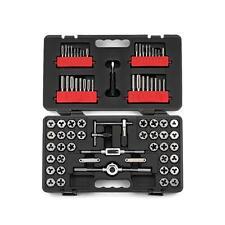 Craftsman 75 Piece Combination Tap & Die Carbon Steel Set w/ Case