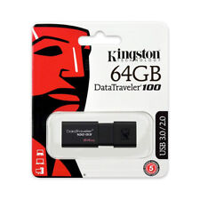 Kingston DataTraveler 64GB USB 3.0 Flash Drive Memory Card 64 G
