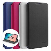 Flip Case Samsung S10e Magnet Cover Aufstellbar Ständer Schutzhülle Schale Folie