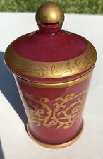 Arte Italica Pink Borghese Small Covered Canister