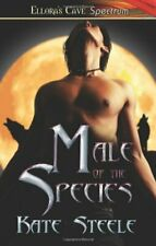MALE OF THE SPECIES by Kate Steele EROTIC GAY PARANORMAL SHIFTER ~ COMBINED SHIP