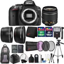 Nikon D5300 24.2MP DSLR Camera 18-55mm Lens + Zoom Flash +  Accessory Bundle