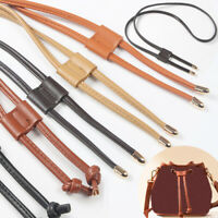 Women PU Leather Bag Strap Backpack Drawstring Strap Replacement DIY Accessories