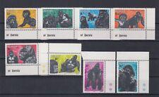 TIMBRE STAMP  8 RWANDA  Y&T#1117-24 SINGE GORILLE  NEUF**/MNH-MINT 1983 ~B25