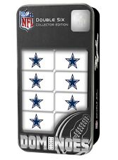 Dallas Cowboys NFL Double-Six Collector Edition Dominoes
