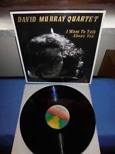 "David Murray Quartet ""I Want To Talk About You"" LP BLACK SAINT ITA 1989"