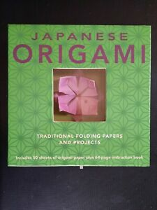 JAPANESE ORIGAMI book and paper kit