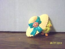 Hallmark Cards Easter Spring Chick Duckling Peep Duck With Bonnet Pin