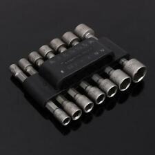 Inbus Steckschlüssel Hex Nuss Nüsse 5mm 5.5mm 6mm 7mm 8mm 10mm 12mm Satz 14 Stk