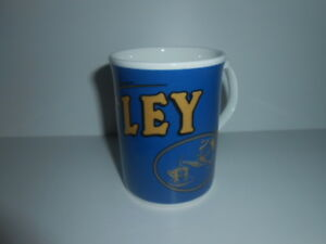 TETLEY MUG / CUP BLUE & GOLD / NEW - SEE PHOTOS