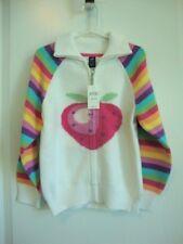 Baby Gap Strawberry Rainbow Cardigan Sweater Girl Size 5 5T 5 years NWT - Spring
