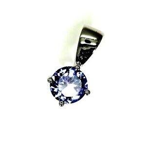 9ct 9k Gold Spinel Solitaire Pendant