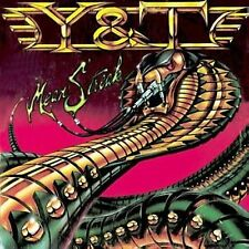 Mean Streak by Y&T REMASTERED CD W/ BONUS TRACK MINT CONDITION