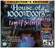 House of 1000 Doors: -- Collector's Edition 4 Pack  (PC, 2012) (New, Sealed*