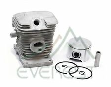Cylinder Head Piston Kit For Stihl 017 MS170 37mm Piston Pin Ring Circlips