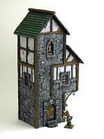 NEW!! Painted Tudor 05- Terrain for Warhammer/D&D