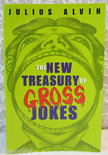 The New Treasury Of Gross Jokes By Julius Alvin – Kensington Paperback Book J5