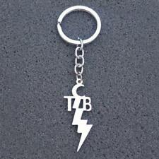 8f0829d28 TCB KEYCHAIN Stainless Steel Charm Taking Care of Business Elvis Motto Key  Chain