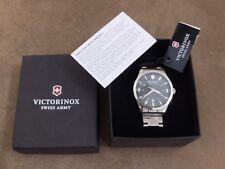 Victorinox 241473 Men's Alliance Swiss Quartz Watch - Rolex Explorer Homage $495