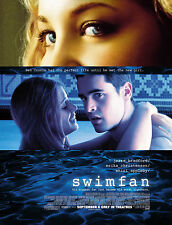 SWIMFAN (2002) ORIGINAL MOVIE POSTER  -  ROLLED  -  DOUBLE-SIDED