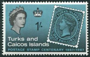 TURKS AND CAICOS ISLANDS 1967 1s SG290 mint MNH FG Stamp Centenary ##A03