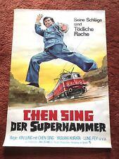 Chen Sing Der Superhammer Kinoplakat Poster A1, Eastern, Lung Fey, 1973