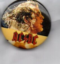 ACDC / AC/DC - BUTTON BADGE -  HEAVY METAL / CLASSIC ROCK  BUTTON BADGE