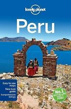 Lonely Planet Peru (Travel Guide)-ExLibrary