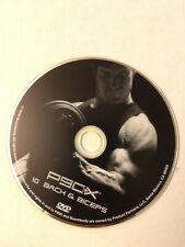 P90X Disc 10 Back & Biceps Replacement DVD Tony Horton Beachbody Fitness