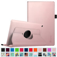 For All-New Amazon Fire HD 8 7th Gen 2017 Smart Case Leather Cover Stand