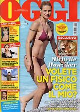 Oggi 2017 25.Michelle Hunziker,Red Canzian-Pooh,Lady Diana,Lionel Messi,Amadeus