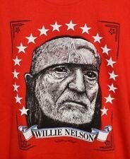 New listing NEW! Mens UNWORN Willie Nelson Healing Hands of Time Portrait T-Shirt MEDIUM