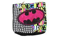 Batman Kids Mini Tote Bag Pink Batgirl Purse Girls Bag