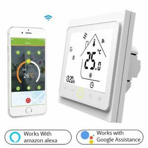 Termostato WiFi per Caldaia a Gas/AcquaTermostato intelligente Schermo LCDTN ...
