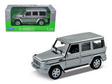 Mercedes Benz G Class Wagon Silver 1:24-1:27 Diecast Model Car - Welly 24012SIL*