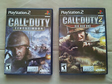 call of duty finest hour call of duty 2 big red one ps2 games tested