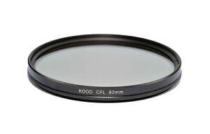 Kood 82mm Circular Polariser Filter Glass CPL Filter 82mm Polarizing Filter