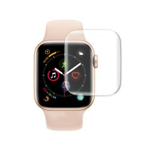 Film Soft Glass Screen Protector Full Coverage For Apple Watch Series 6 5 4 SE