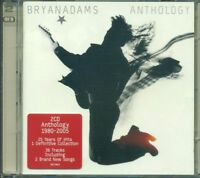 Bryan Adams - Anthology 1980 2005 Con Sticker 2X Cd Ottimi