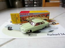 Panhard 24C Coach 524 Green Dinky Toys Atlas 1/43 with Box And Specification