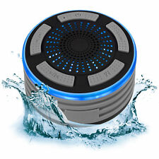 Portable IP67 Waterproof Wireless Bluetooth Speaker Shower FM Radio Speakerphone