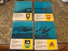karl Ries BOOKS set  4 Markings camouflage luftwaffe aircraft WWII world war 2
