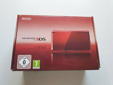 Nintendo 3ds RED console 3 ds