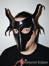 Baphomet Goat Leather Mask Halloween Masquerade Satanic Ritual 666 Gift UNISEX