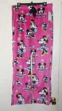 Women's Size Medium Disney's Minnie Mouse Soft Minky Pajama Pants NWT
